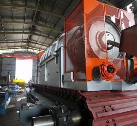 Diesel fired kiln