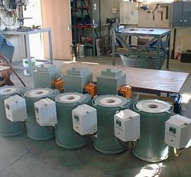 Small heat treatment furnaces
